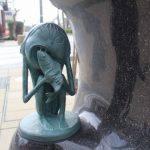 エンコウ 妖怪ブロンズ像