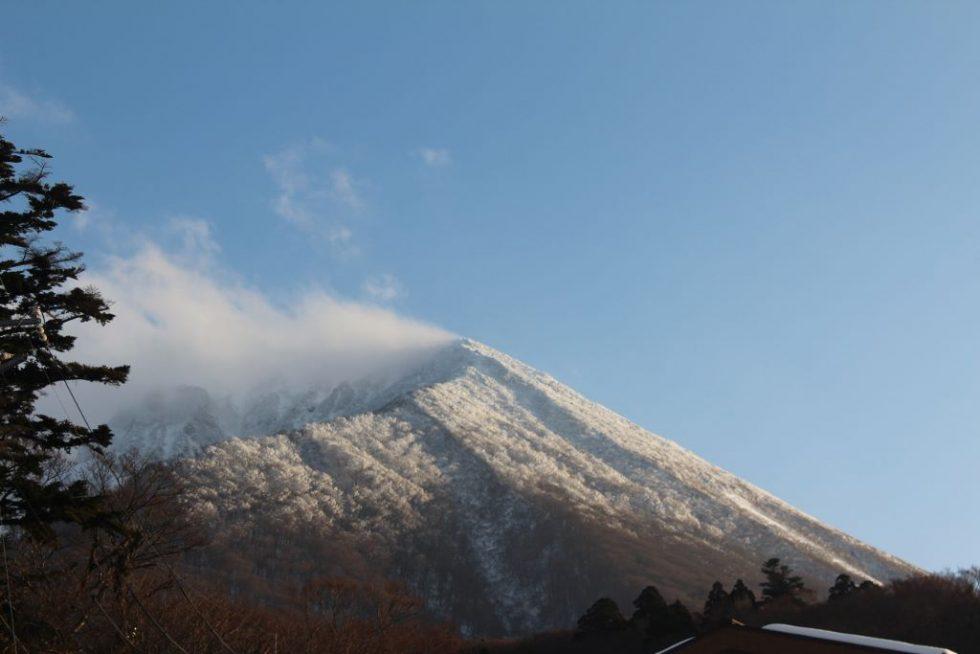 名峰 大山