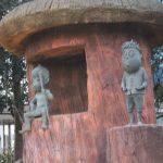 河童の三平と悪魔くん(松下一郎)ブロンズ像
