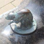 鉄鼠 妖怪ブロンズ像