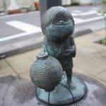提灯小僧(ちょうちんこぞう)妖怪ブロンズ像