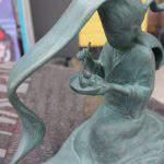 二口女(ふたくちおんな)妖怪ブロンズ像