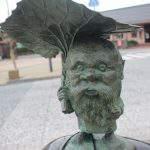 コロポックル 妖怪ブロンズ像