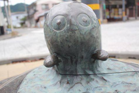 海坊主(うみぼうず)妖怪ブロンズ像