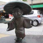 豆腐小僧(とうふこぞう)妖怪ブロンズ像