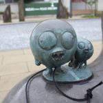 キジムナー 妖怪ブロンズ像