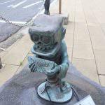 死神(しにがみ)妖怪ブロンズ像