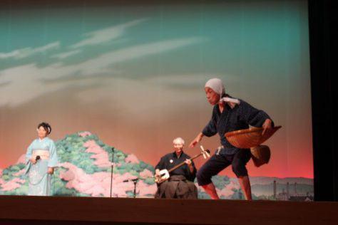 安来節 どじょうすくい男踊り3