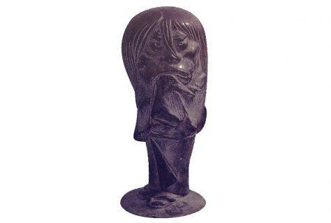 砂かけ婆-妖怪ブロンズ像