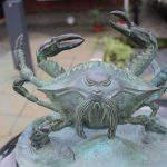 蟹坊主(かにぼうず)妖怪ブロンズ像