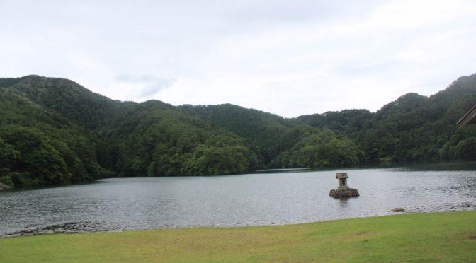 赤松池 鳥取県大山町