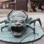 石見の牛鬼(いわみのうしおに)妖怪ブロンズ像