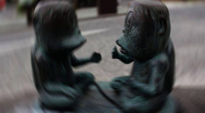 水木しげるロードの妖怪「河童」身近なところにひそむ妖怪たち