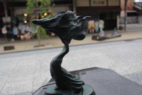 火取魔(ひとりま)妖怪ブロンズ像