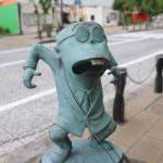 サラリーマン山田 ブロンズ像