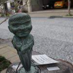 井戸の神(いどのかみ)妖怪ブロンズ像