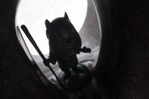 百々爺(ももんじい)妖怪ブロンズ像