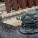 小豆はかり(あずきはかり)妖怪ブロンズ像